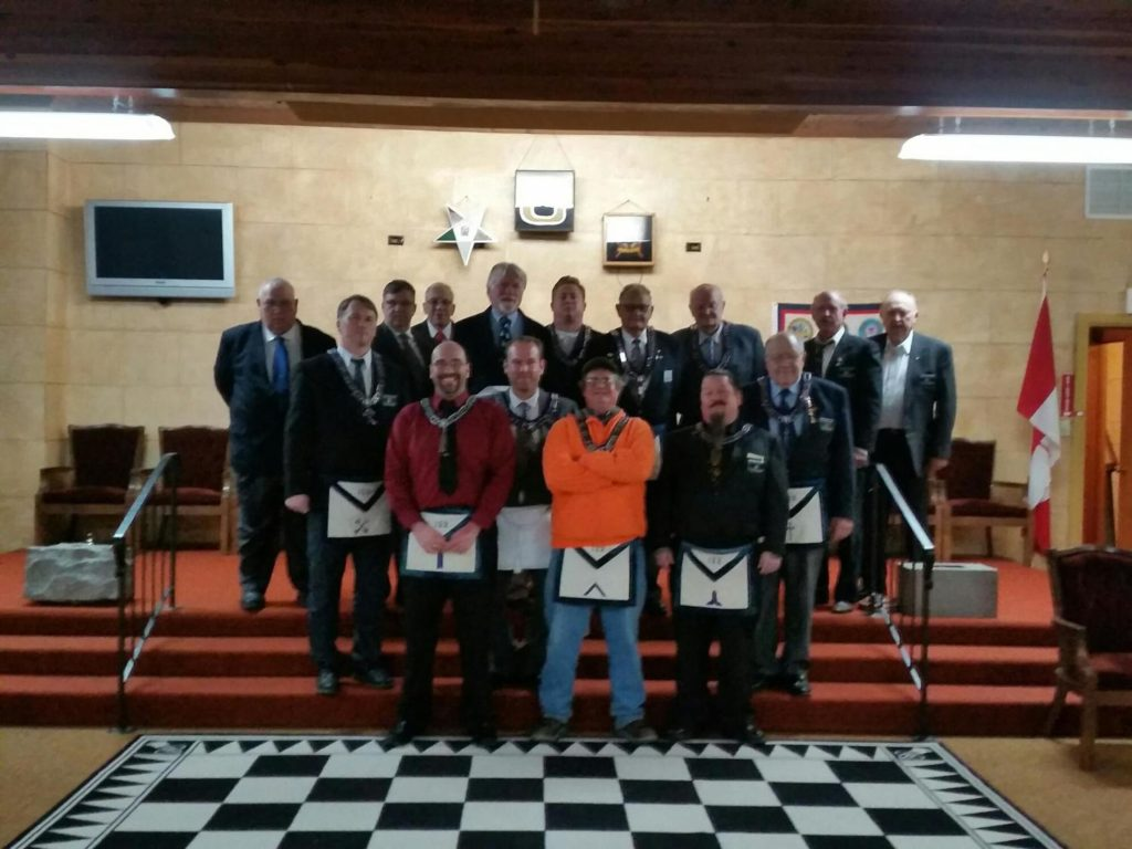 Installation of officers for 2015-2016 year